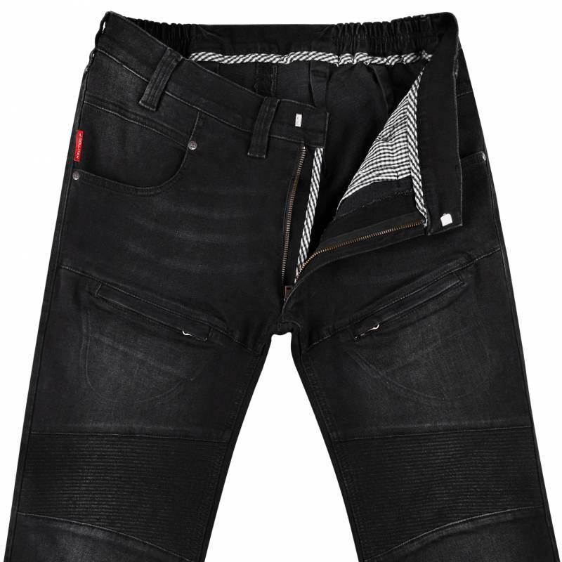 Regular-Fit Jeans aus Stretch-Denim 54