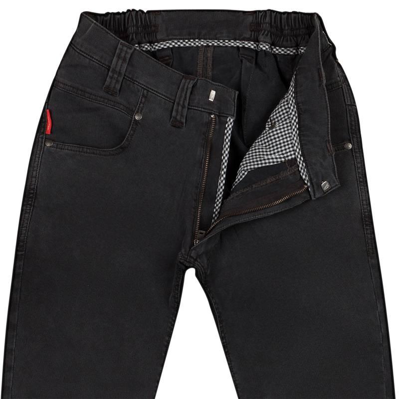 Regular-Fit Sommer-Jeans aus elastischem Modal-Mix 50