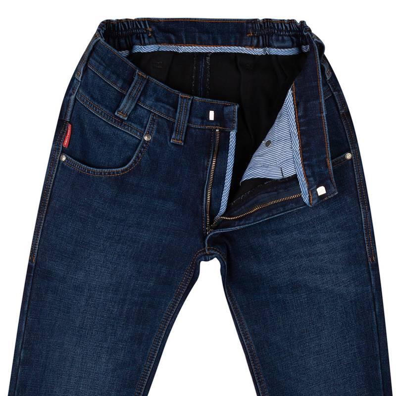 Thermo Slim-Fit Jeans aus Stretch-Denim 58