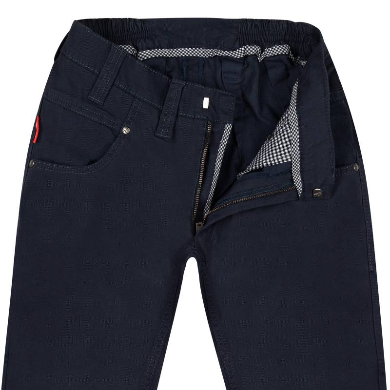 Chino Hose Regular-Fit mit edler Weboptik 44