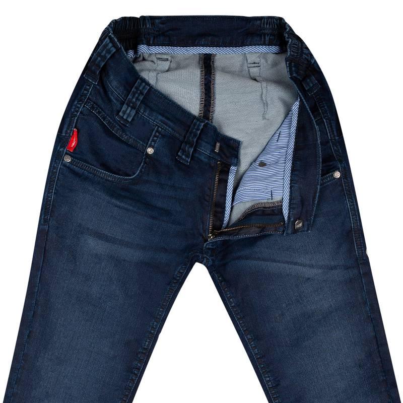 Extra Slim-Fit Jeans aus Jogg-Denim