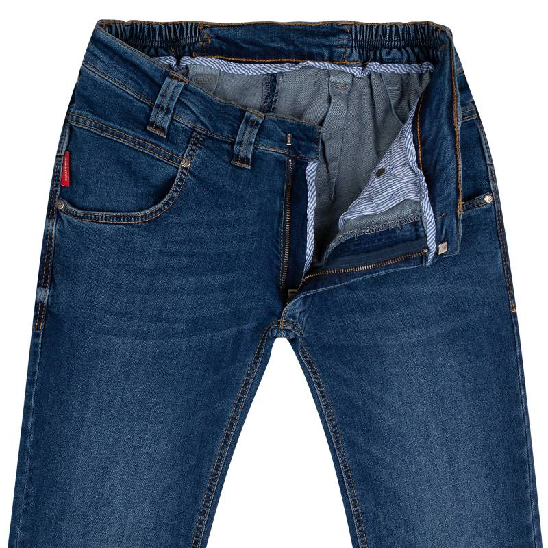 Slim-Fit Jeans aus Stretch-Denim 42