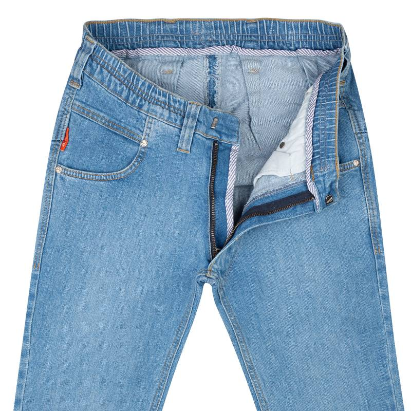 Schlupf Stretch-Jeans Regular Fit