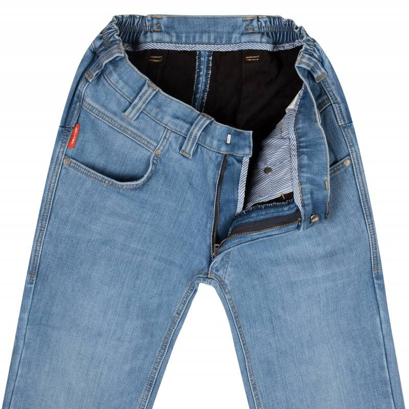 Thermo Regular-Fit Jeans aus Stretch-Denim